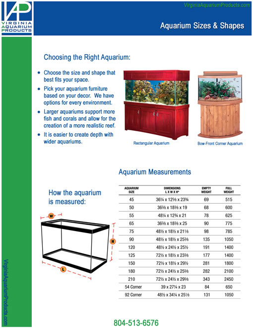 Fish tank sizes standard tank sizes litres and for 20 gallon fish tank size